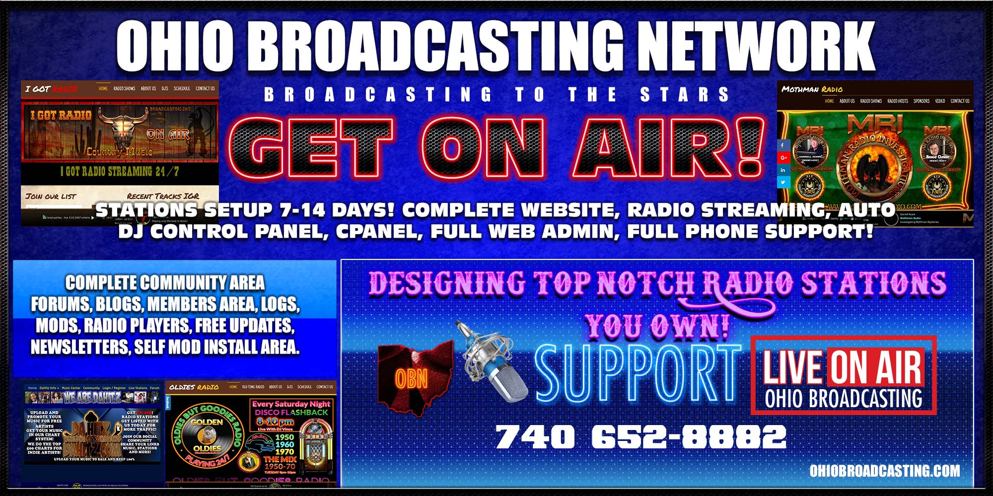 Details about Internet Radio Station COMPLETE SETUP AUTO DJ ON AIR  SHOUTCAST ON SALE STREAMING